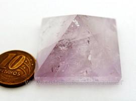 Piramide Tok Ametista Cristalizada Baseada Queops Cod PA6662