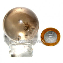 Esfera Quartzo Cristal Tok Fumê Extra Quartzo Fumado 119819