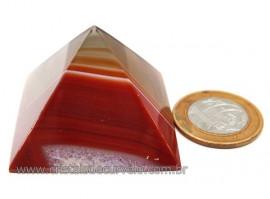 Piramide Agata Cornalina Baseada Egipcio Queops Cod PC8542