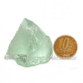 Obsidiana Verde Pedra Vulcanica Ideal P/ Coleçao Cod 128434