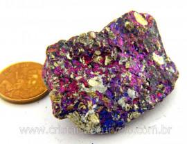 Bornita ou Pedra Pavão Mineral Para Esoterismo Cod BB7784