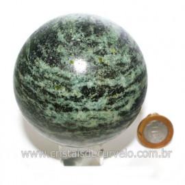 Esfera Quartzo Brasil Bola Lapidada Com Boa Cor Cod 118589