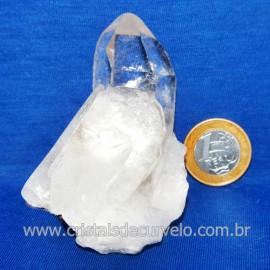 Drusa Cristal Pedra Quartzo Natural Boa Qualidade Cod 123632