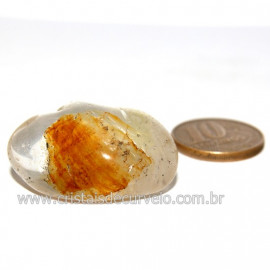 Hematoide Amarelo com Inclusão Dendrita Pedra Natural Cod 126211