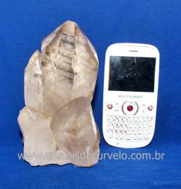 Drusa Cristal Natural Pedra Grande Boa Qualidade Cod 118199