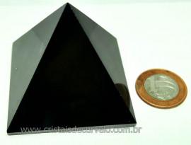 Piramide Obsidiana Negra Pedra Vulcanica Queops Cod PO4443