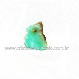Crisoprasio Bruto Lasca No Estojo Mineral Natural Cod 118545