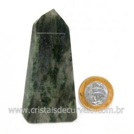 Ponta Epidoto Verde Na Matriz Ideal Para Coleção Cod 128507