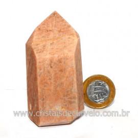 Ponta Amazonita Rosa Pedra Da Família Feldspato Cod 123438