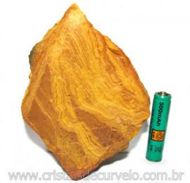 Jaspe Amarelo Pedra Bruta Natural P/ Esoterismo Cod 115217