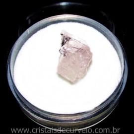 Morganita no Estojo Pedra Natural Berilo Rosa Cod 115504