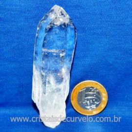 Lemuria Pequeno Quartzo Comum Cristal Lemuriano Natural Cod 119462