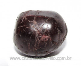 Rodolita Granada Pedra Rolada Natural de Garimpo Cod 111183