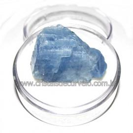Calcita Azul do Mexico no Estojo Pedra Natural Cod 114196