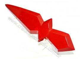 Adaga ou Athame Faca Pedra Natural Jaspe Vermelho Cod AF2065