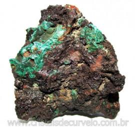 Malaquita Especial Matriz Mineral Pequeno Natural Cod 115404