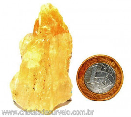 Calcita Mel Pedra Natural P/ Coleção e Esoterismo Cod 110312