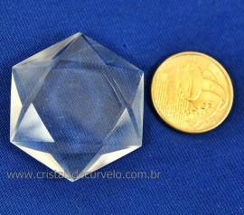 Estrela De Davi Ou Selo de Salomão Cristal Extra 5 a 20 Gr Reff 110779