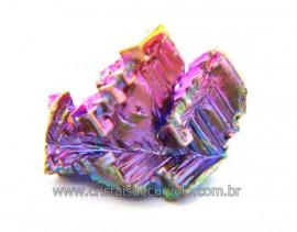 Bismuto Mineral ou Bismuth Stone Pedra Natural Cod BB2231