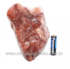 Hematoide Vermelho Natural Quartzo Cristalizado Cod 118332