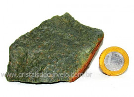 Basalto Verde Bruto Para Colecionador ou Estudante Cod BV4170