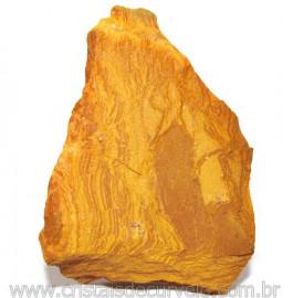 Jaspe Amarelo Pedra Bruta Natural P/ Esoterismo Cod 115216