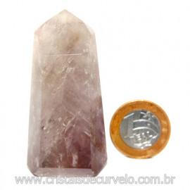 Ponta Prasiolita ou Ametista Verde Pedra Natural Cod 117643