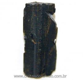 Canudo de Epidoto Pedra Bruto Natural Pra Coleção Cod 106566