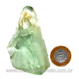 Obsidiana Verde Pedra Vulcanica Ideal P/ Coleçao Cod 119715