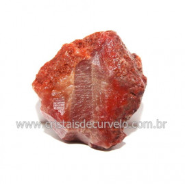 Cristal Quartzo Tangerina Pedra Bruto Natural Cod 118377