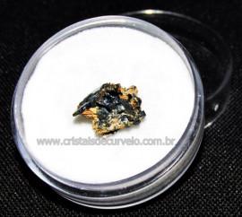 Rutilo Estrela na Matriz de Hematita No Estojo Cod 115106
