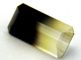 Gema Quartzo Bi Color Pedra Natural Montagem Joia Cod QB6432