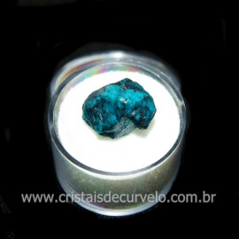 Crisocola Bruto Lasca No Estojo Mineral Natural Cod 118506
