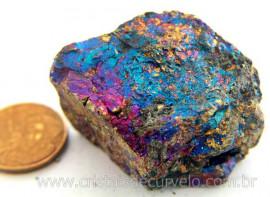 Bornita ou Pedra Pavão Mineral Para Esoterismo Cod BB3833