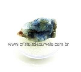 Safira Corindon Mineral Natural No Estojo Para Colecionador Exigente Cod 44.2