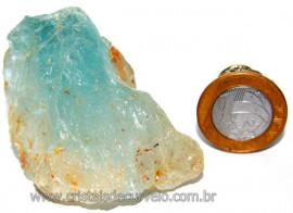Topazio Azul Mineral Bruto Natural Pedra Extra Cod TA1424