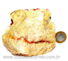 Calcedonia Geodo Pedra Bruto Natural de Garimpo Cod 110403