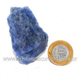 Sodalita Azul Natural de Garimpo Para Colecionar Cod 122888