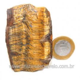 Olho de Tigre Pedra Extra Bruto Natural da África Cod 121216