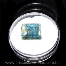 Cianita Azul Canudo No Estojo Natural de Garimpo Cod 115796