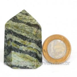 Ponta Pedra Quartzo Brasil Natural Gerador sextavado 128265