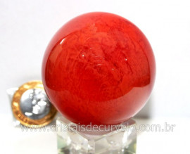 Esfera Cherry Pedra Familia Obsidiana Para Colecionador ou Esoterismo Cod 168.1