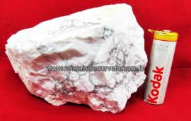 Howlita Pedra Natural De Garimpo Em Bruto Para Colecionador e Esoterismo Cod 372.1