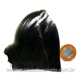 Obsidiana Negra Mineral Vulcanico Pedra Natural Cod 123981