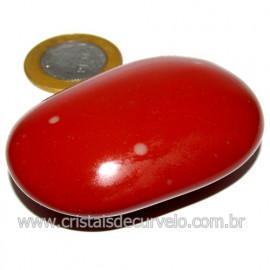 Sabonete Massageador Jaspe Vermelho Pedra Natural Cod 114302