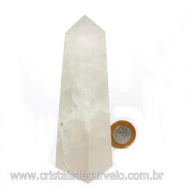 Obelisco Pedra Fluorita Multicolor Natural Garimpo Cod 121781