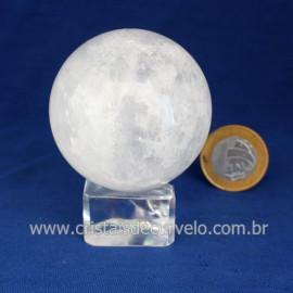 Bola Cristal Comum Qualidade Pedra Uso Esoterico Cod 121665