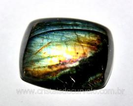 Labradorita Gema Lisa Pedra Natural Para Joias cod GL7153