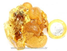 Ambar Natural Brasileiro ou Copal Resina Fossilizado Rocha Organica Cod AC3624
