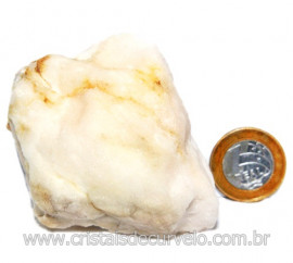 Selenita Laranja Pedra Natural Para Esoterismo Cod 123982